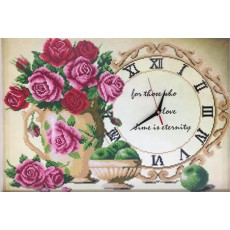 장미꽃시계