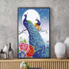 파란공작새(커플)