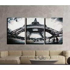 에펠탑 3폭